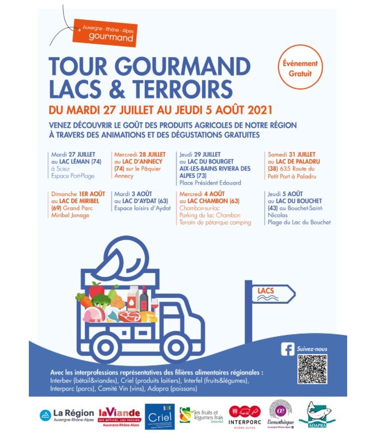 Tour Gourmand des Lacs et Terroir
